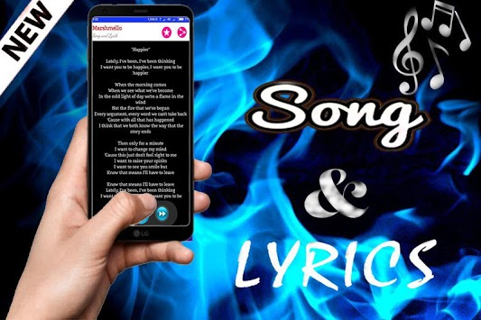 DJ Marshmello Song + Lyrics APK screenshot 1