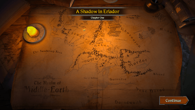 The Lord of the Rings: Journeys in Middle-earth APK screenshot 1