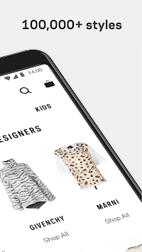 Farfetch: Shop Designer Clothing, Shoes & Gifts APK screenshot 1