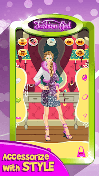 Fashion Girl: Makeover Salon APK screenshot 1