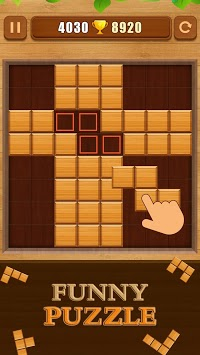 Wood Block Puzzle APK screenshot 1