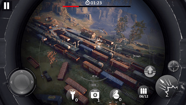 Fatal Target Shooter- 2019 Overlook Shooting Game APK screenshot 1