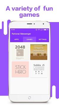 Rational Messenger APK screenshot 1