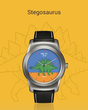 Dinosaur Watch Faces APK screenshot 1