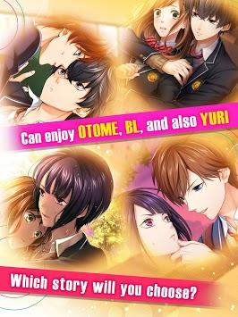 First Love Story【otome・yaoi・yuri】otaku dating sim APK screenshot 1