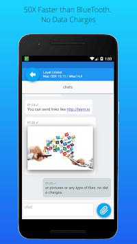 Feem v4. Share Files Offline APK screenshot 1