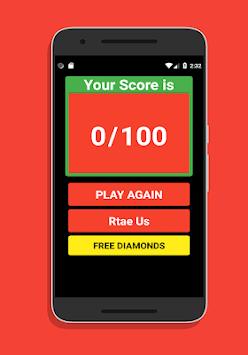 Quiz For Free Fire Diamonds APK screenshot 1