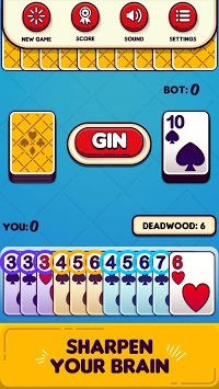 Gin Rummy Free! APK screenshot 1