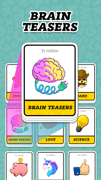 Tricky Riddles with Answers & Brain Teaser APK screenshot 1