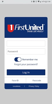 First United Bank NEW APP APK screenshot 1