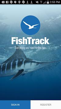 FishTrack - Fishing Charts APK screenshot 1