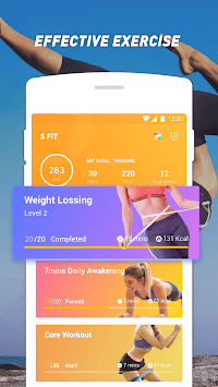 Easy Fit - Home Workout, Lose Weight APK screenshot 1