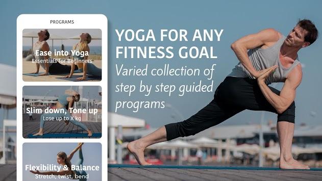 Yoga Workout by Sunsa. Yoga workout & fitness APK screenshot 1