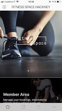 Fitness Space App APK screenshot 1