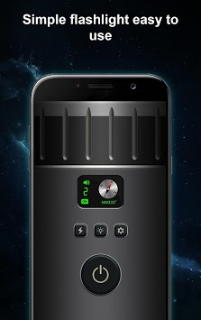 Super-Bright LED Flashlight APK screenshot 1