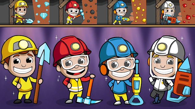 Idle Miner Tycoon APK screenshot 1