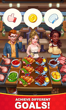 Cooking Hot - Crazy Restaurant Kitchen Game APK screenshot 1
