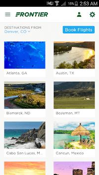Frontier Airlines APK screenshot 1