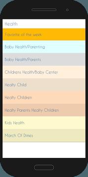 Mom & Baby Center APK screenshot 1