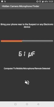 Detect Hidden Cameras and Microphones- Detect Bugs APK screenshot 1