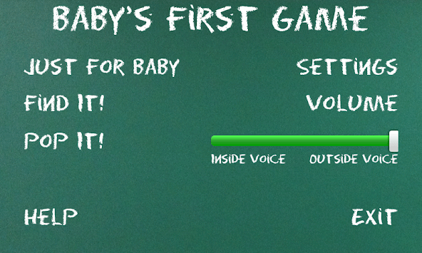 Baby's First Game APK screenshot 1