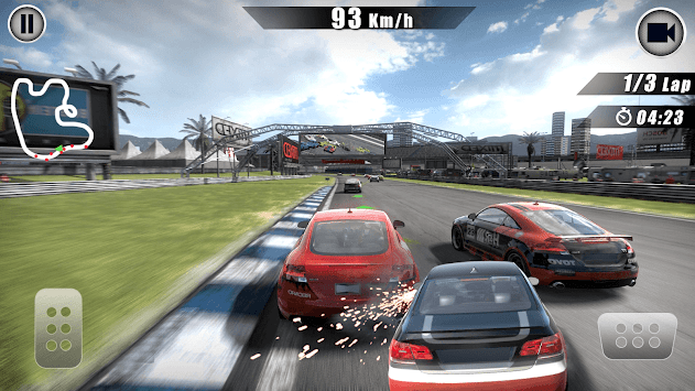 4-wheel Furious Race APK screenshot 1