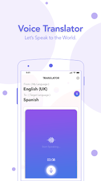 Voice Translator APK screenshot 1