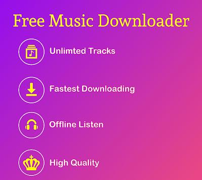 Free Music Downloader - Mp3 Music Download APK screenshot 1