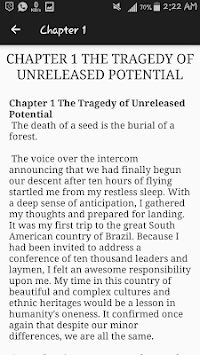 Releasing Your Potential by Myles Munroe APK screenshot 1