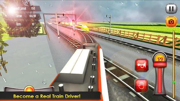 Subway Train Racing 3D 2019 APK screenshot 1