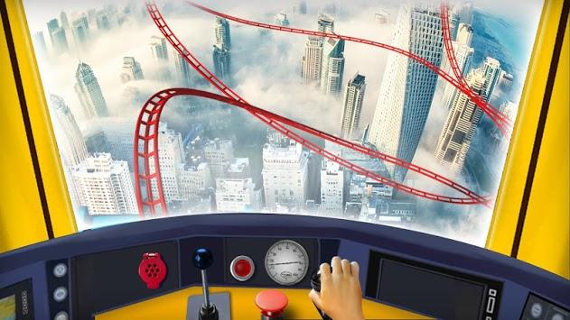 Roller Coaster Train Simulator 2018 APK screenshot 1