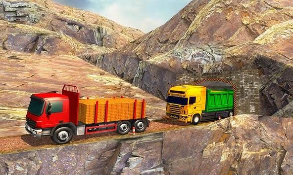 Uphill Gold Transporter Truck Drive APK screenshot 1