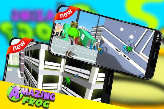 The Amazing Frog Simulator City 2019 APK screenshot 1