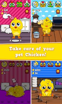 My Chicken - Virtual Pet Game APK screenshot 1