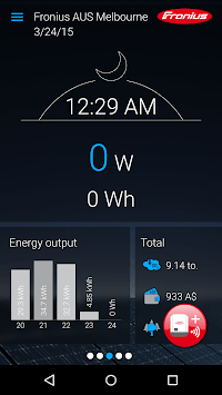 Fronius Solar.web live APK screenshot 1