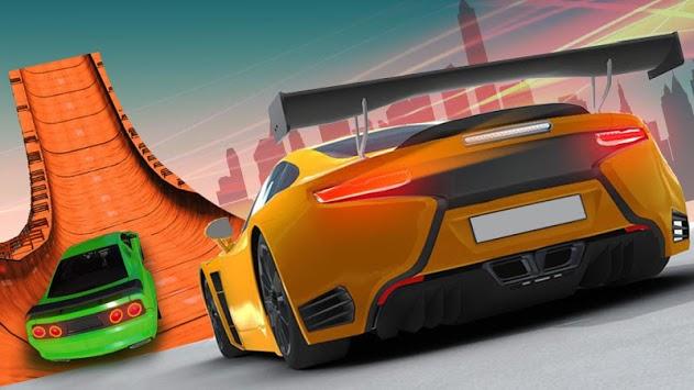 Impossible Car Stunts Racing 2018: 3D Sky Tracks APK screenshot 1