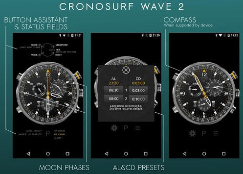 Cronosurf Wave watch APK screenshot 1