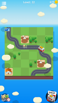 Road Trip FRVR - Connect the Way of the Car Puzzle APK screenshot 1