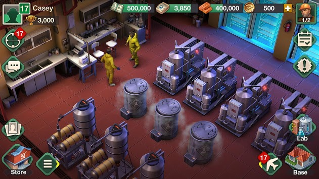 Breaking Bad: Criminal Elements APK screenshot 1