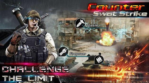 Counter Swat Gun Strike - Free Shooter Game APK screenshot 1