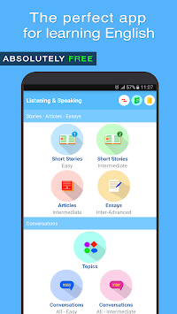 English Listening and Speaking APK screenshot 1