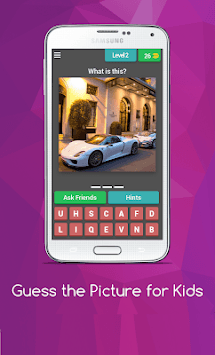 Guess the Picture for Kids APK screenshot 1