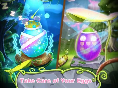 Caring Baby Eggs-Animal Spa Salon APK screenshot 1
