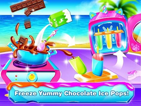 Unicorn Icepop - Ice Popsicles Mania APK screenshot 1