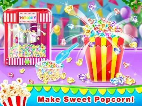 Unicorn Popcorn Maker-Unicorn Food APK screenshot 1