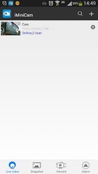 iMiniCam APK screenshot 1