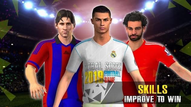 Global Football League APK screenshot 1
