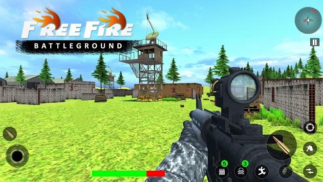 Free Fire Battleground: FPS Gun Shooting Games APK screenshot 1