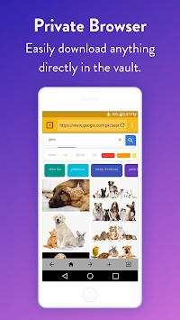 Easy Vault : Hide Pictures, Videos, Gallery, Files APK screenshot 1