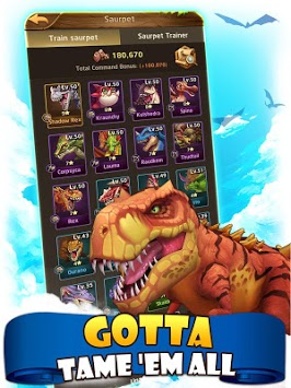 Jurassic Tribes APK screenshot 1